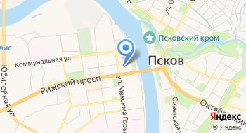 Фирма Псков-Аудит на карте