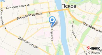 Управление Федеральной службы по надзору в сфере природопользования по Псковской области Цлати по Псковской области на карте
