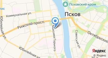 Рэа на карте