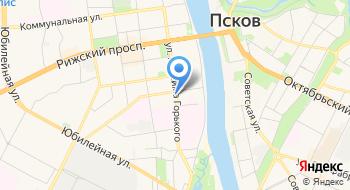 Псковский УКК Автомобильного Транспорта на карте