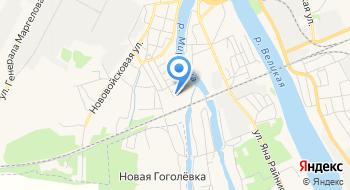 Псковский областной центр по гидрометеорологии и мониторингу окружающей среды на карте