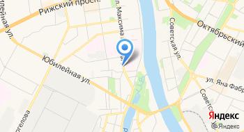 РЭУ, Псковский филиал на карте