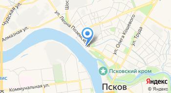 ФБУ Государственный региональный центр стандартизации, метрологии и испытаний в Псковской области на карте