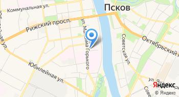 Псковский медицинский колледж на карте