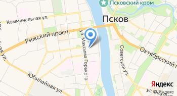 Общежитие Псковского государственного университета на карте