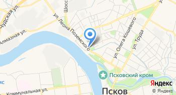 Псковский районный суд на карте