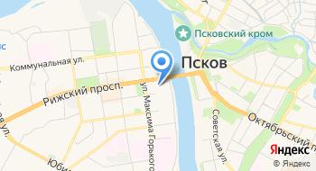 Псковский областной театр кукол на карте