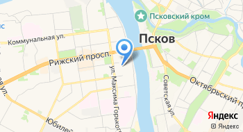 Ольгинский, бизнес-центр на карте