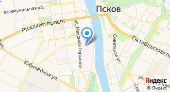 Хостел Рус Псков на карте