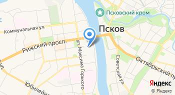 Росснио Псковский Областной Дом Науки и Техники на карте