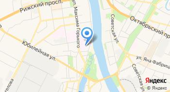 Псковское областное бюро судебно-медицинской экспертизы на карте