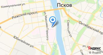 Псковский Госпиталь для Ветеранов Войн на карте
