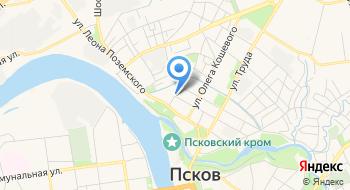 Псковский областной колледж искусств им. Н.А. Римского-Корсакова на карте