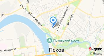 Псковский районный центр культуры на карте