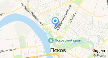 ГБУЗ Псковская Мб на карте