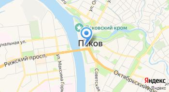 Псковский информационный туристский центр на карте
