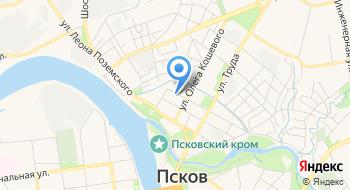Военный комиссариат г. Псков и Псковского района на карте