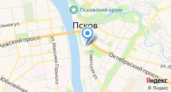 Псковская областная универсальная научная библиотека на карте