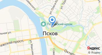 Псковский археологический центр, АНО на карте