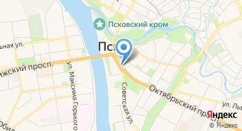 Фондовая компания Псковская на карте