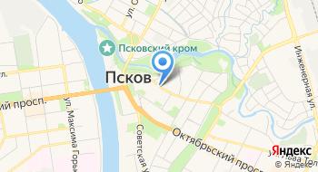 Псковская реставрационная мастерская №1 на карте