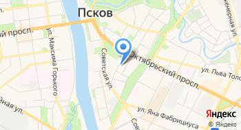 Псковская Городская дума на карте