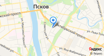 Администрация г. Пскова на карте