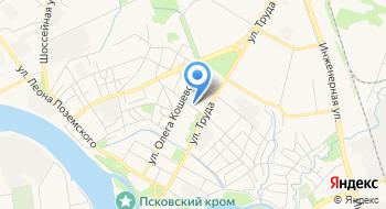 Управление МВД России по Псковской области Экспертно-криминалистический центр на карте