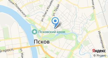 Псковлеспроект, компания на карте