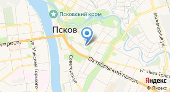 Псковский академический театр драмы имени А. С. Пушкина на карте