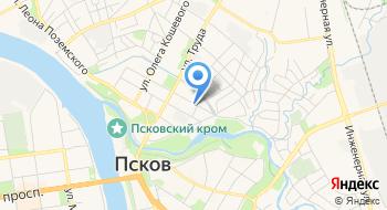 Эвакуатор Псков на карте