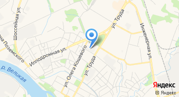 МП города Пскова  на карте