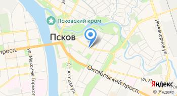 Территориальный орган Федеральной службы государственной статистики по Псковской области на карте