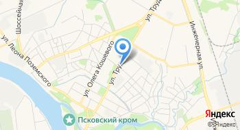 Псковский колледж профессиональных технологий и сервиса Индустриально-строительное отделение на карте