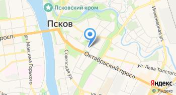 Псковское Областное собрание депутатов на карте
