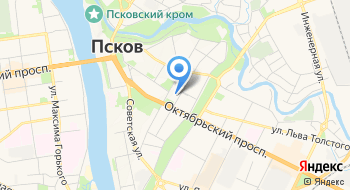 Администрация Псковской области на карте