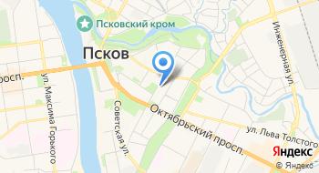 Государственное управление образования Псковской области на карте