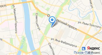 Псковский областной центр по профилактике и борьбе со СПИДом и инфекционными заболеваниями на карте