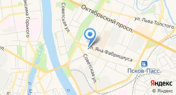 Вахрамеева М.А. Нотариус на карте