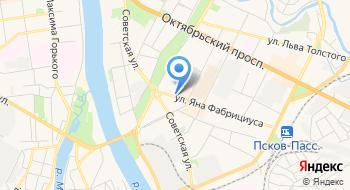 Прокуратура г. Пскова на карте