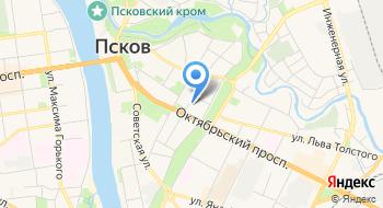 Псковский государственный университет, кафедра информационных систем и технологий на карте