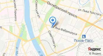 Флик на карте