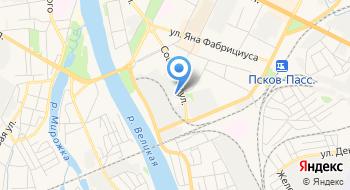 СТС-Псков, торговая компания на карте
