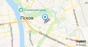 Псковское духовное училище на карте