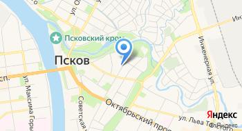 ГТРК Псков на карте