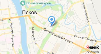 Псковский межрайонный следственный отдел на карте