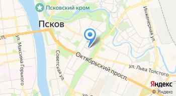 Учебно-методический центр по Гражданской Обороне, Чрезвычайным Ситуациям и Обеспечению Пожарной Безопасности Псковской области на карте