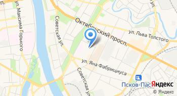 Уфнс по Псковской области на карте