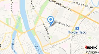 Псковская областная ветеринарная лаборатория на карте