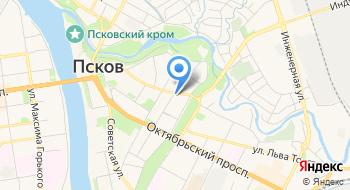 Гедеон-Псков, частная охранная организация на карте
